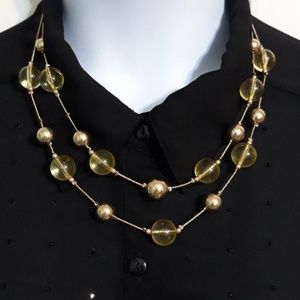 NWOT Cato fashion earrings/necklace set
